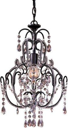 Minka Lavery 3123-489, Mini Crystal Chandelier Lighting, 1 Light, 60 Watts, Bronze Minka Lavery http://smile.amazon.com/dp/B000A2IJ9M/ref=cm_sw_r_pi_dp_sNPZwb1ZZTE2P