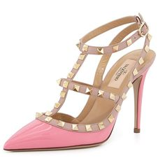 Valentino rockstuds New never worn with tags/box/dust bag light pink Valentino rockstuds. Size 38 Valentino Shoes Heels
