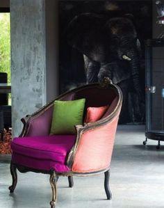 10x oude stoeltjes voor in huis