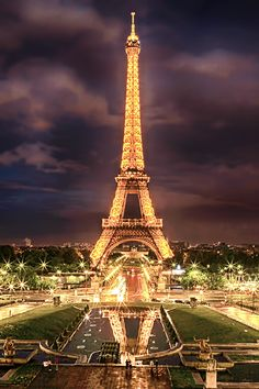 Eiffel by Night