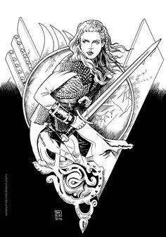 Image result for fan arte vikings