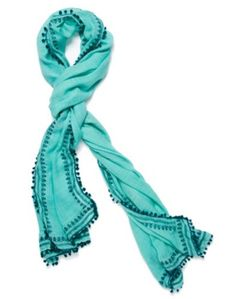 TEXTURED SOLID SCARF - LuckyBrandMobile