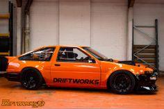 Nascar V8 + AE86 x Driftworks = The Driftworks DW86