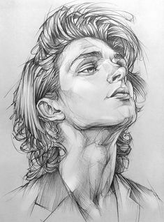 Male Face Drawing, Realistic Face Drawing, Pencil Portrait Drawing, Portrait Sketches, Art Drawings Sketches Simple, Guy Drawing, Pencil Art Drawings, Drawing People, Portrait Art