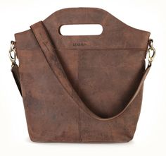 LEABAGS - Damen Leder Shopper Vintage