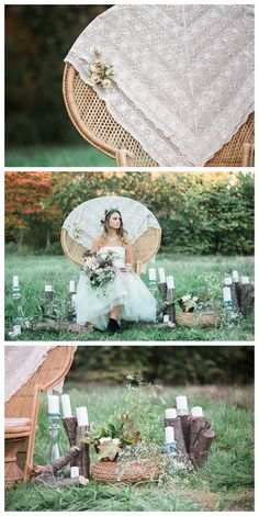 Outdoor Rustic Wedding Styled Shoot