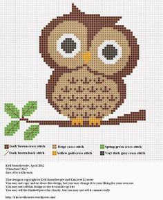 Owls - Free Patterns Owl Card Awww – we think this cute card is owl-dorable! It's a super speedy make for the weekend and perfect for sen... More