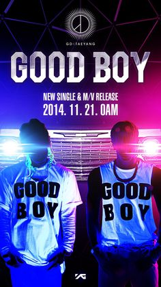 G-Dragon & Taeyang Kick Off YG Hip-Hop Project With The Release Of 'Good Boy' Collaboration http://www.kpopstarz.com/articles/139501/20141120/g-dragon-taeyang-kick-off-yg-hip-hop-project-with-the-release-of-good-boy.htm