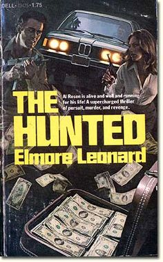 Elmore Leonard - The Hunted Elmore Leonard, Pulp Fiction, Book Collection, Hunting, Novels, Reading, Book Covers, Israel, Books