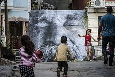 "JR, ""Wrinkles Of The City"" ile İstanbul'da"