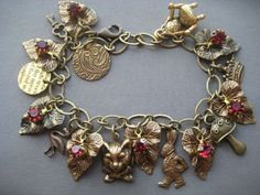 Alice in Wonderland Charm Bracelet - Alice in Wonderland Jewelry
