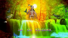 Discover & share this Jai Sh Krishna GIF with everyone you know. GIPHY is how you search, share, discover, and create GIFs. Krishna Gif, Nature Gif, Gifs, Painting, Art, Art Background, Painting Art, Kunst, Paintings