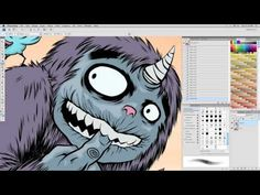 Comic Coloring Tutorial Part Two - Rendering and Finishing Touches (2011) - YouTube