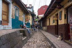 La Candelaria, Bogota, Colombie Colonial