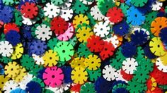 Sunday's Tough Jigsaw Puzzle – Fun Colorful Disks