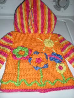 Ravelry: Crochet Springtime Friends Hoodie by Anji Beane