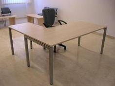 Uredski stolovi s metalnim nogama iz kvadratnih profila