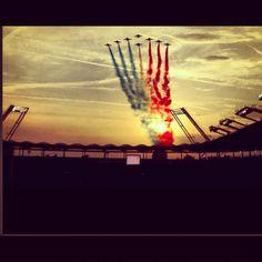 Stadium Toulouse, patrouille de France