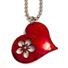 Ceramic Pendant, Polymer Clay Pendant, Ceramic Jewelry, Enamel Jewelry, Clay Beads, Copper Jewelry, Polymer Clay Jewelry, Clay Earrings, Leather Jewelry