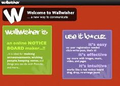 www.wallwisher.com, digital post-its for all sorts of things