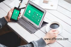 Take a rest with a cup of coffee and get #organized easily with #Efficcess app for #iOS and #Android, even desktop version~