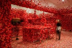 Les Obsessions florales de Yayoi Kusama (3)