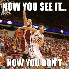 Too quick for the competition! Iowa State Cyclones.
