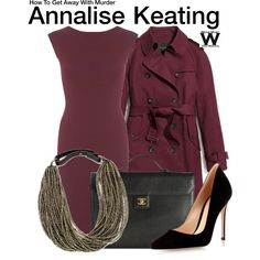 Inspired by Viola Davis as Annalise Keating on How to get Away With Murder.