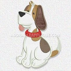 This free embroidery design is a dog. Enjoy!