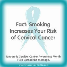 January is Cervical Cancer Awareness Month.