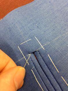 Comment coudre un gilet avec doublure le retourné et faire les poches impeccable tuto détaillé