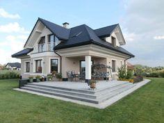 Realizacja projektu domu Maja 3 z Pracowni Architektonicznej MG Projekt