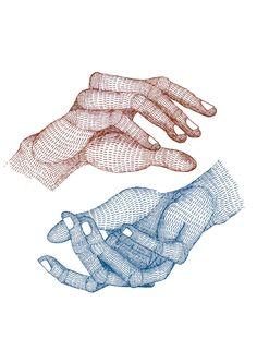 Littleisdrawing (Carla Fuentes) - Hands - Gunter Gallery | Gunter Gallery