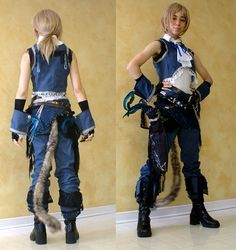 Zidane FFIX cosplay, totally want to dress up like this for a con.