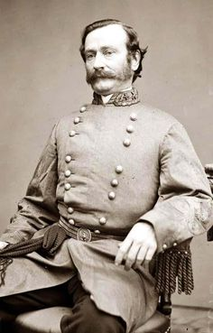 Major General Mansfield Lovell, officer of the Confederate Army