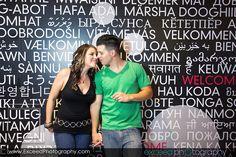 Las Vegas Engagement Photo Session, Las Vegas Strip Photo Tour, Couple's Photos