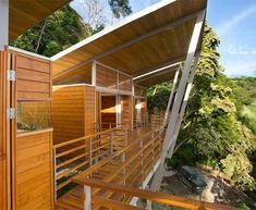 Floating Modern Treehouse