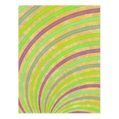 fancy swirl colorful design to brighten the day postcard - fancy gifts cool gift ideas unique special diy customize