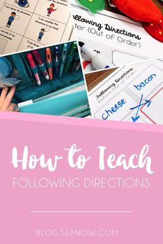 Struggling with those following directions goals? Of course, Johnny can follow 2-step directions in the therapy room with 80% accuracy, but why does his teacher say he can't follow ANY directions?! Let's talk about some strategies to facilitate generaliza