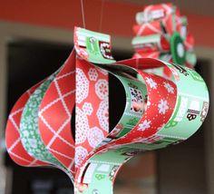 kids christmas ornaments | DIY Christmas Ornaments | Mommamoderna's Blog