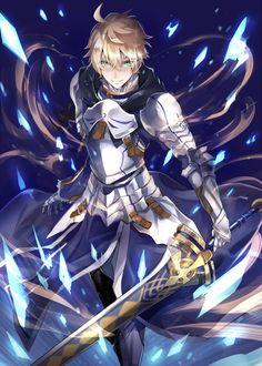 "Saber (Arturo Pendragon) - Fate/Prototype ""Fragments Blue & Silver"" - Fate/Prototype - Fate/Grand Order"