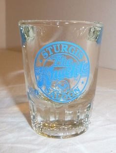 Thick Shot Glass - Sturgis Saloon The Knuckle Goose Point Oysters Washington