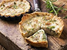 Tarte au thon et fromage frais, ciboulette et câpres - Recette facile