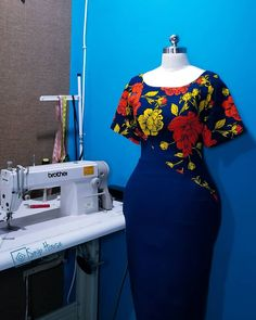 African Fashion Ankara, Latest African Fashion Dresses, African Inspired Fashion, Women's Fashion Dresses, African Print Fashion, Africa Fashion, Fashion Prints, African Dresses For Women, African Lace Dresses