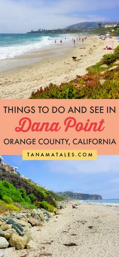 Things to do, see and eat in Dana Point | California | Things to do in Orange County | Things to do in San Juan Capistrano | Things to do in San Clemente | California Road Trip | Pacific Coast Highway Road Trip | Dana Point Beaches | Dana Point Wedding | Dana Point Restaurants | Dana Point Harbor | Dana Point Sea Caves | Dana Point Surfing | Dana Point Whale Watching | Doheny State Beach | Capistrano Beach | Salt Creek Beach | Monarch Resort | Dana Point Walks | Dana Point Hotels | Strands… Canada Travel, Travel Usa, Travel Tips, Time Travel, Travel Ideas, Us Destinations, Amazing Destinations, United States Travel, Mexico Travel