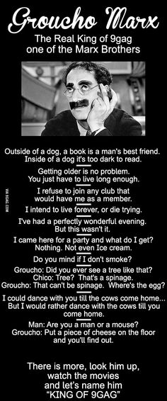 Marx Brothers Quote Idea king of groucho marx quotes Marx Brothers Quote. Here is Marx Brothers Quote Idea for you. Big Brother Quotes, Little Boy Quotes, Funny Signs, Funny Jokes, Hilarious, Tgif Funny, Groucho Marx Quotes, Great Quotes, Inspirational Quotes