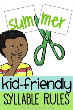 Kid Friendly Syllabl