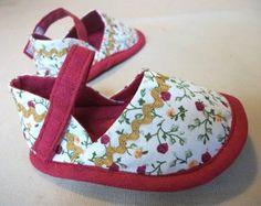 Пинетки туфельки для ребенка. Мастер класс + выкройка