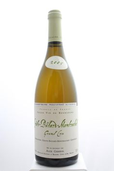 Alex Gambal Criots-Batard-Montrachet 2005. France, Burgundy, Chassagne Montrachet, Grand Cru. 11 Bottles á 0,75l. Price realized (9/2016): 1.200 USD (109,10 USD/Bottle).