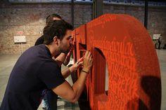 Unfinishing the TEDxMadrid logo